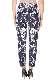 Joseph Ribkoff Fitted Floral Pant - Side cropped
