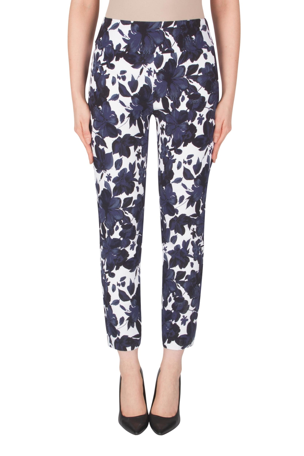 Joseph Ribkoff Fitted Floral Pant - Main Image