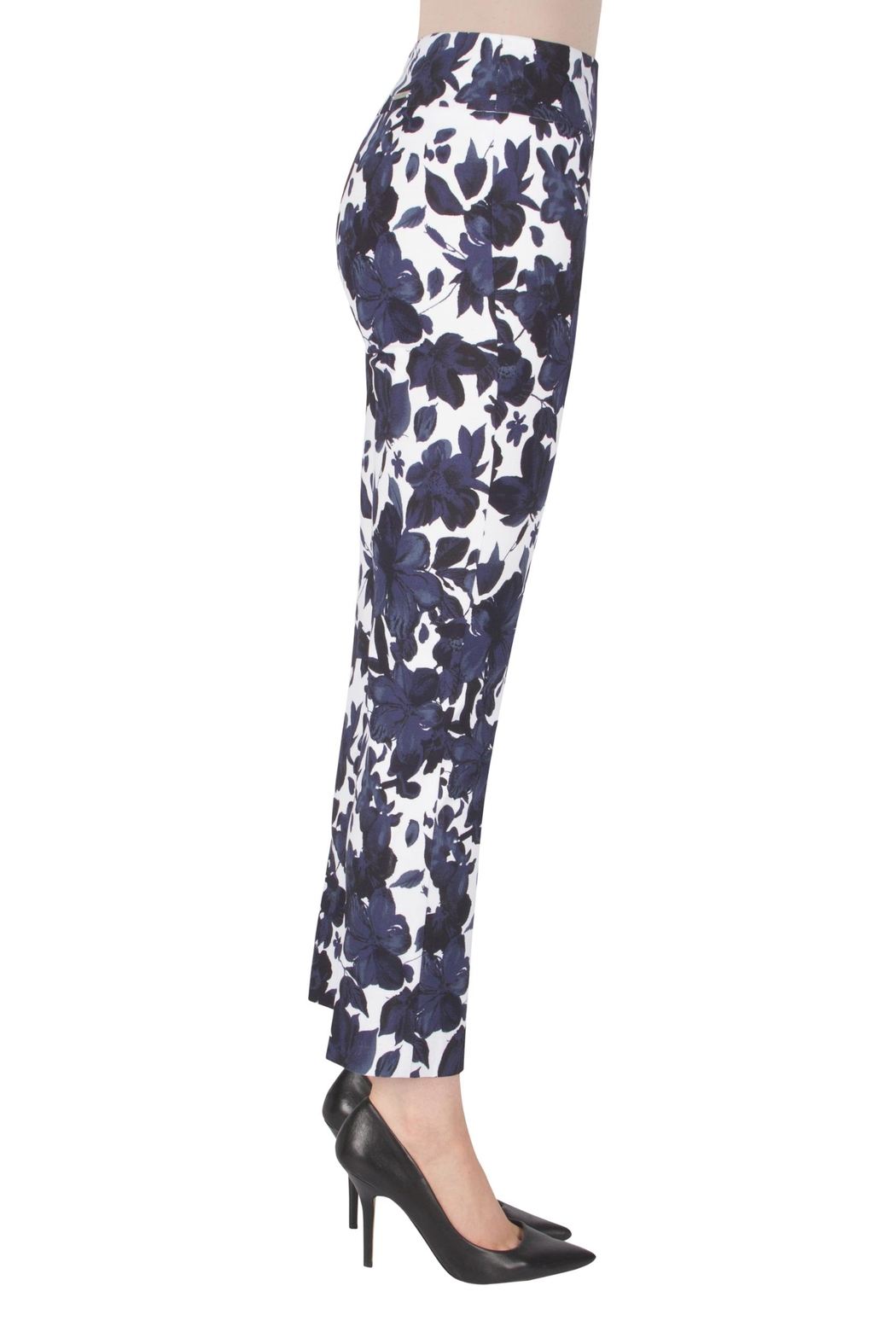 Joseph Ribkoff Fitted Floral Pant - Front Full Image