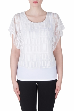 Joseph Ribkoff Fitted Layer Top - Product List Image