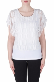 Joseph Ribkoff Fitted Layer Top - Front cropped