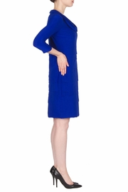 Joseph Ribkoff Fitted Layer Dress - Front full body