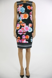 Joseph Ribkoff Floral Accent Dress - Product Mini Image