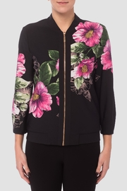 Joseph Ribkoff Floral Black Jacket - Product Mini Image