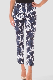 Joseph Ribkoff Floral Cropped Pant - Product Mini Image