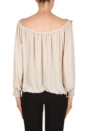 Joseph Ribkoff Floral Detail Top - Side cropped