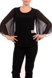 Joseph Ribkoff Flutter Sleeve Top - Product Mini Image