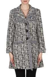 Joseph Ribkoff Fringe Coat - Product Mini Image