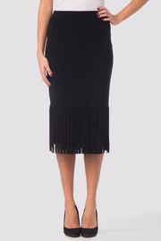 Joseph Ribkoff Fringe Pencil Skirt - Product Mini Image