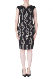 Joseph Ribkoff Front Print Dress - Product Mini Image