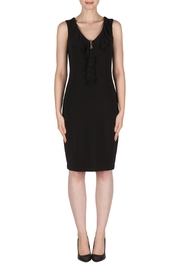 Joseph Ribkoff Front-Zip Ruffle Dress - Product Mini Image