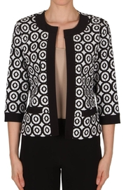 Joseph Ribkoff Geometric Circle Cover-Up - Front cropped