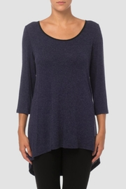 Joseph Ribkoff Georgette Knit Tunic - Front cropped