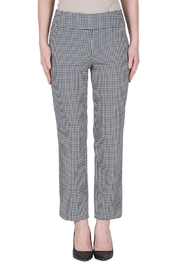 Joseph Ribkoff Gingham Ankle Pants - Product Mini Image