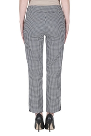 Joseph Ribkoff Gingham Ankle Pants - Side cropped