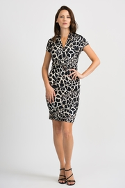 Joseph Ribkoff Giraffe Patterned Dress - Front cropped