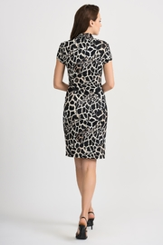 Joseph Ribkoff Giraffe Patterned Dress - Side cropped