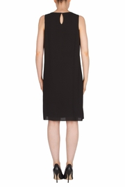 Joseph Ribkoff Gold Detailing Dress - Side cropped