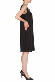 Joseph Ribkoff Gold Detailing Dress - Front full body