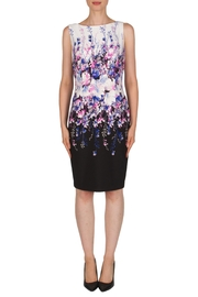 Joseph Ribkoff Gradient Floral Dress - Product Mini Image