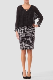 Joseph Ribkoff Graphic Print Dress - Product Mini Image