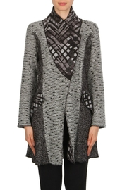 Joseph Ribkoff Grey/black Jacket - Product Mini Image