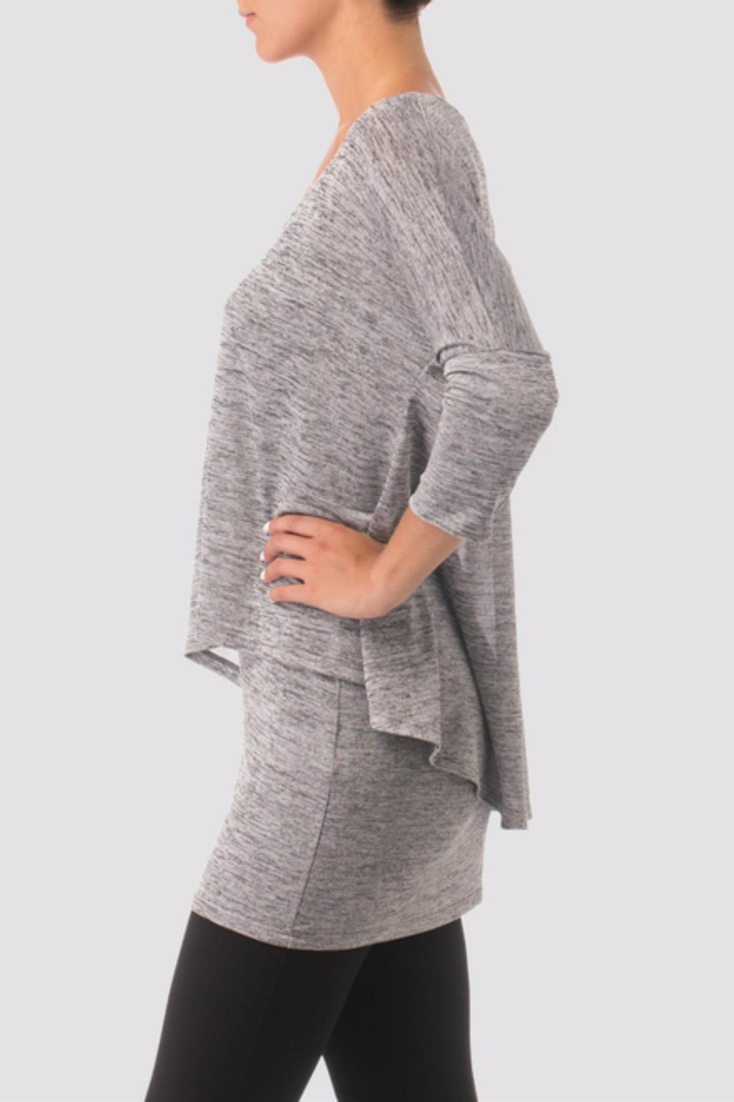 Joseph Ribkoff Grey Tunic Style Sweater from New York by June's ...