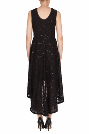 Joseph Ribkoff High Low Lace Dress - Side cropped