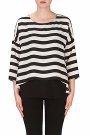 Joseph Ribkoff Horizon Stripe Tunic Top - Product Mini Image