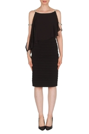 Joseph Ribkoff Jewel Accented Dress - Front cropped