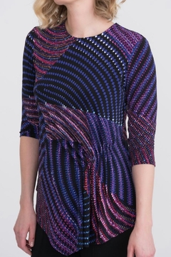 Joseph Ribkoff Jewel Toned Tunic - Alternate List Image