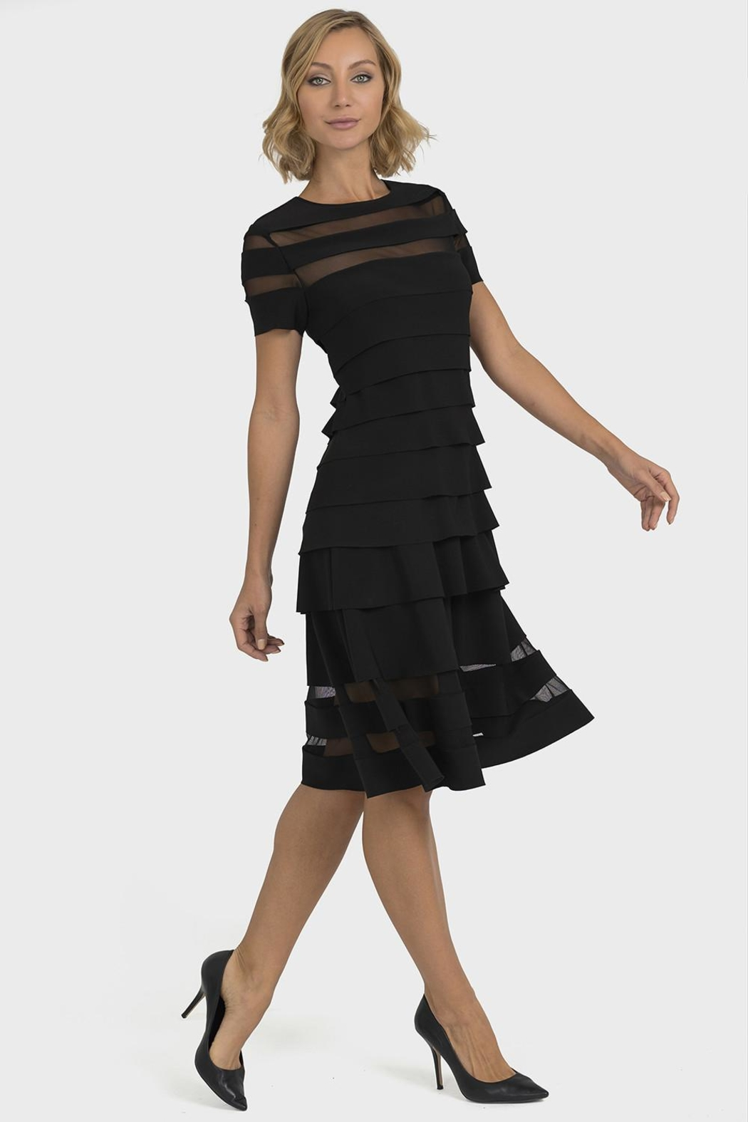 Joseph Ribkoff Jolene Banded Dress - Main Image