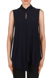 Joseph Ribkoff Keyhole Sleeveless Top - Product Mini Image