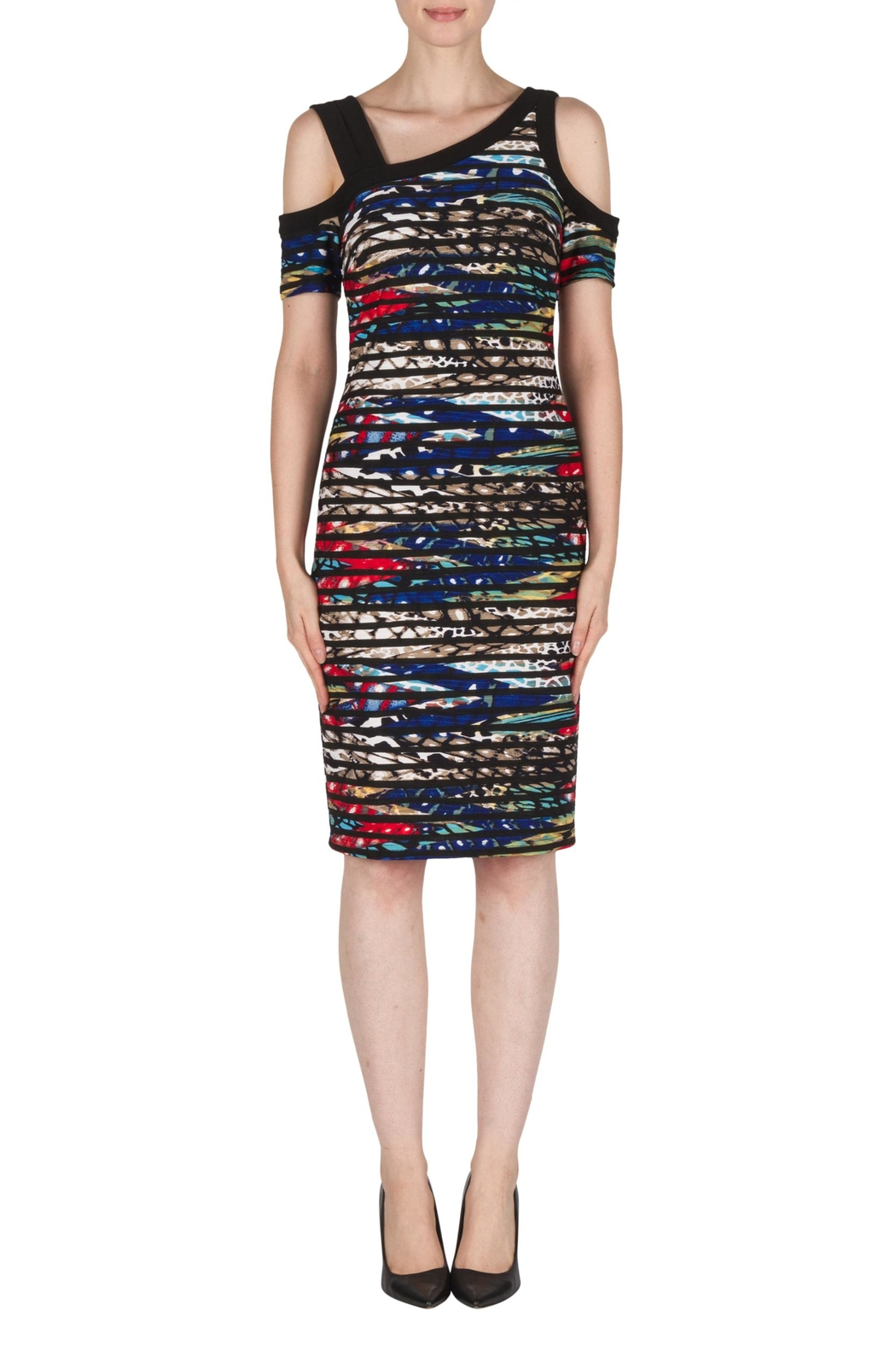 Joseph Ribkoff Kristin Multi-Colored Dress - Main Image