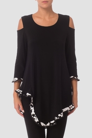 Joseph Ribkoff Lace Trim Tunic - Product Mini Image
