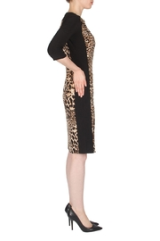 Joseph Ribkoff Leopard Print Dress - Front full body