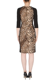 Joseph Ribkoff Leopard Print Dress - Side cropped