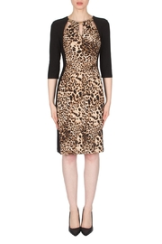 Joseph Ribkoff Leopard Print Dress - Front cropped