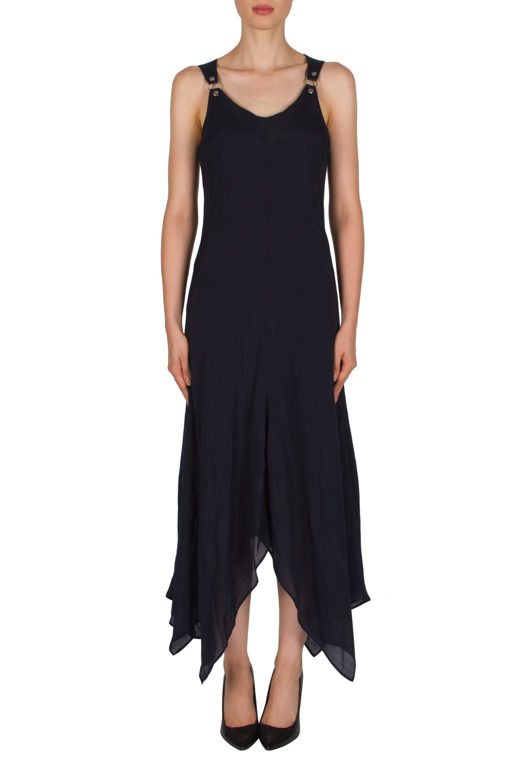 Joseph Ribkoff Lined Tank Dress - Front Cropped Image