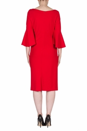 Joseph Ribkoff Lipstick Red Dress - Side cropped