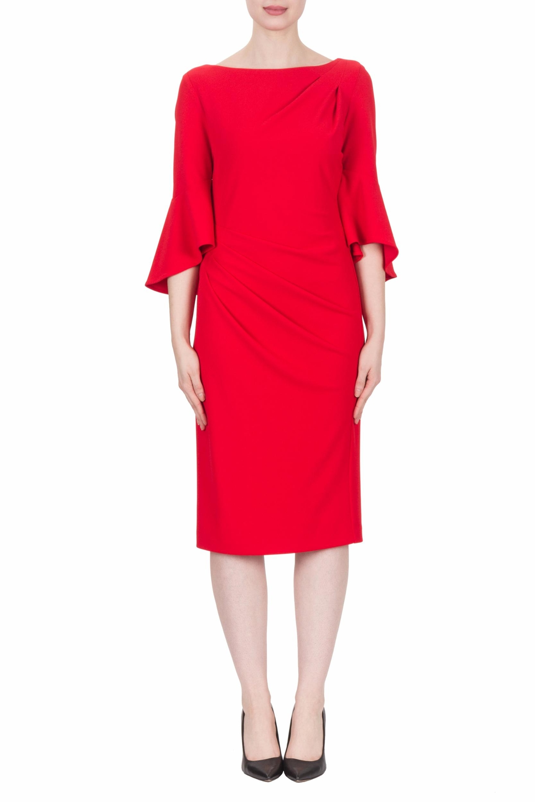 Joseph Ribkoff Lipstick Red Dress - Main Image