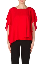 Joseph Ribkoff Lipstick Red Top - Product Mini Image