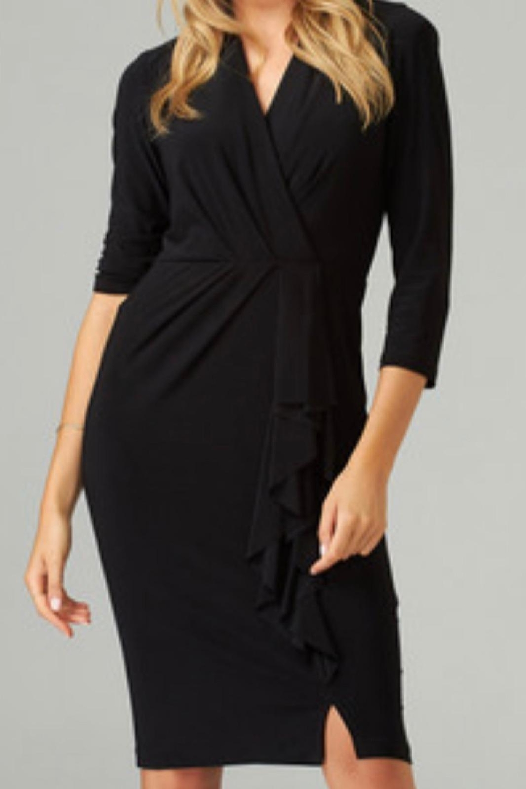 Joseph Ribkoff Little Black Dress - Front Cropped Image