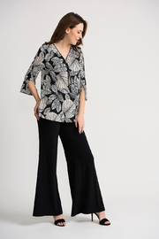 Joseph Ribkoff Marilyn Split-Back Top - Back cropped