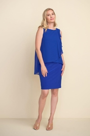 Joseph Ribkoff Meghan Sapphire Dress - Product Mini Image