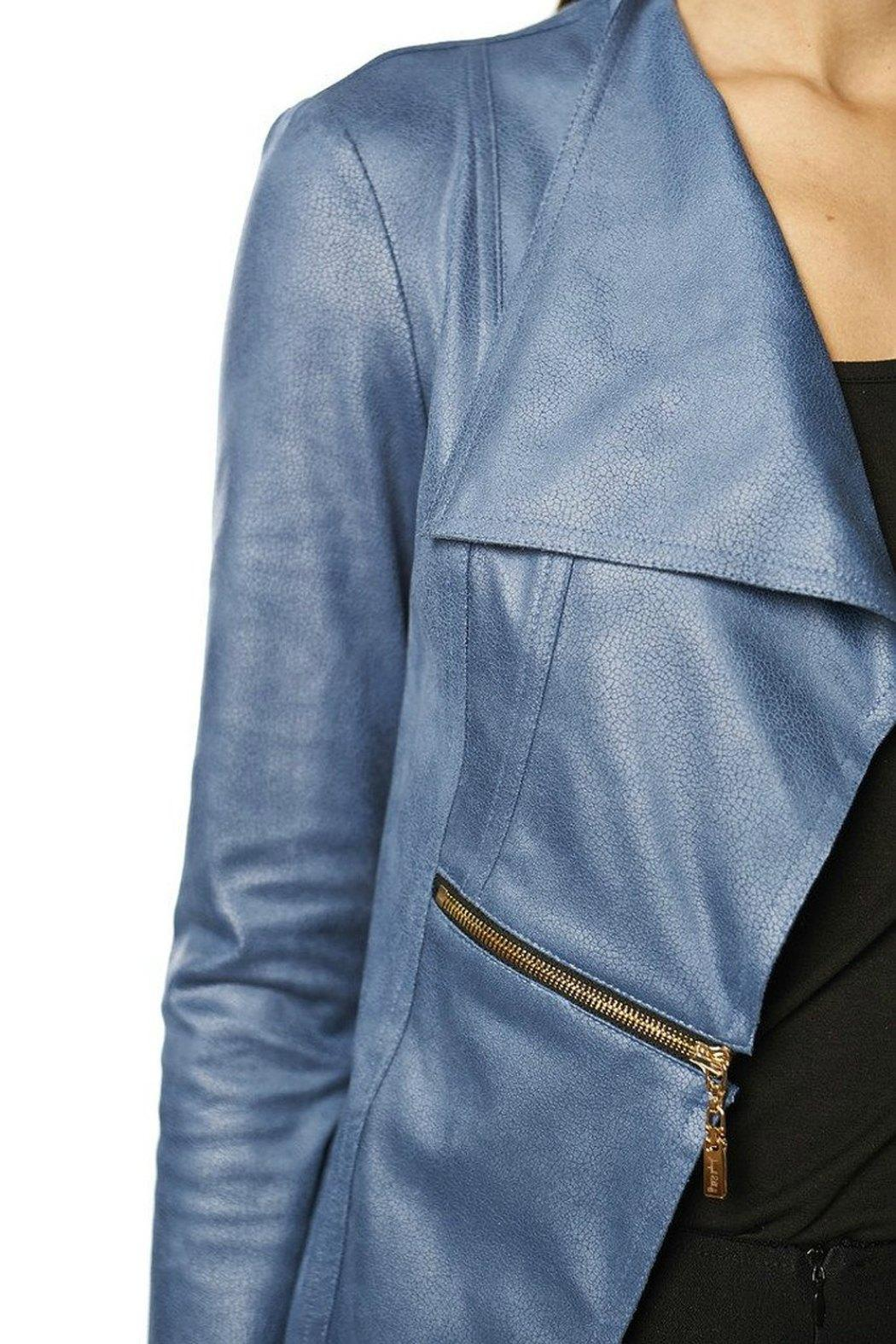 43df1ccc8641 Joseph Ribkoff Microsuede No-Closure Jacket from Vancouver by Jet ...
