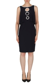 Joseph Ribkoff Midnight Circle Dress - Product Mini Image