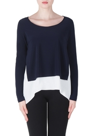 Joseph Ribkoff Midnight Layered Top - Product Mini Image