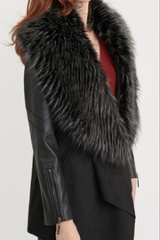 Joseph Ribkoff Mixed Textures Jacket - Product Mini Image