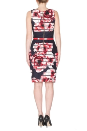 Joseph Ribkoff Modern Floral Dress - Side cropped